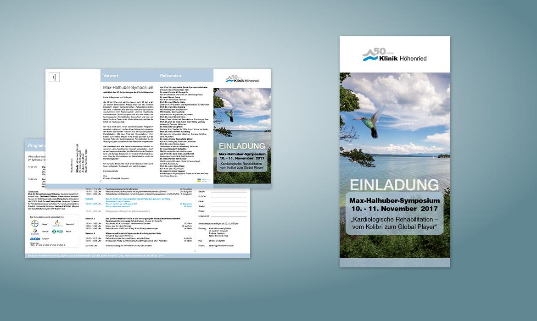 Folder/Flyer Einladung